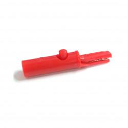 ALLIGATOR CLIP R8-1B RED (SMALL)