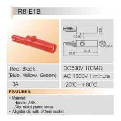 ALLIGATOR CLIP R8-1B (SMALL)