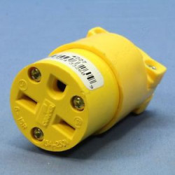 POWER SOCKET NEMA 6-15R 15A 250V