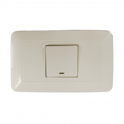WONPRO LIGHT SWITCH, 1-GANG
