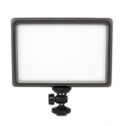 CAMERA LIGHTING, 112LED, 3200K-5600K, BATTERY & CHARGER INCL