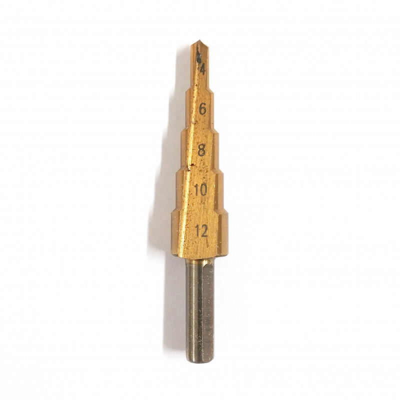 HOLE ENLARGING DRILL BIT 4-12MM SIZE
