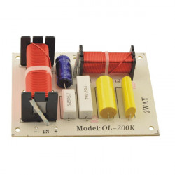 SPEAKER CROSSOVER (X-OVER) 2-WAY, 4-8OHM, 180W, 2PCS/PKG