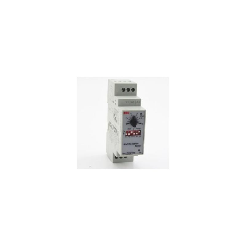 MULTIFUNCTION TIMER DHC19M AC/DC 24 - 240V 0.6S - 100H