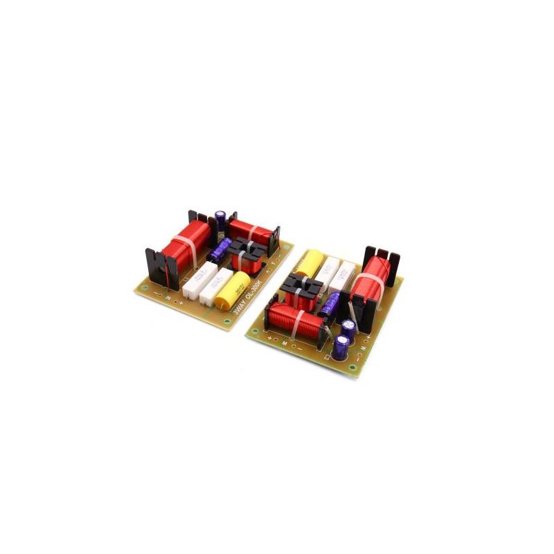 SPEAKER CROSSOVER (X-OVER) 3-WAY, 4-8OHM, 180W, 2PCS/PKG
