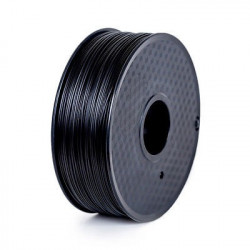 LANBO 3D PRINTER FILAMENT, PLA, BLACK, 1.75MM, 1KG