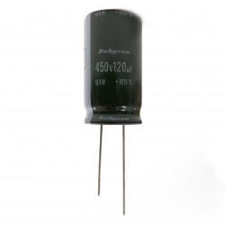 ELECTROLYTIC CAP, 450V 120UF 105C