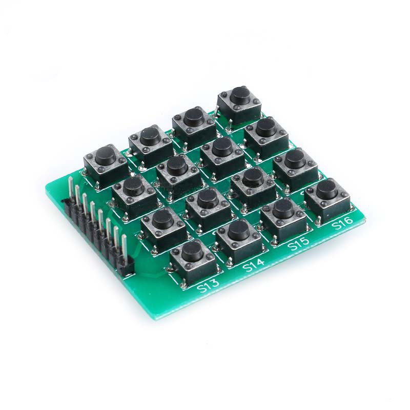 4X4 TACT SWITCH KEYBOARD MODULE