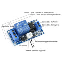 LATCH RELAY MODULE WITH BISTABLE SWITCH