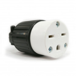 COMMERICAL GRADE POWER SOCKET (F) NEMA 6-15R 250VAC 15A