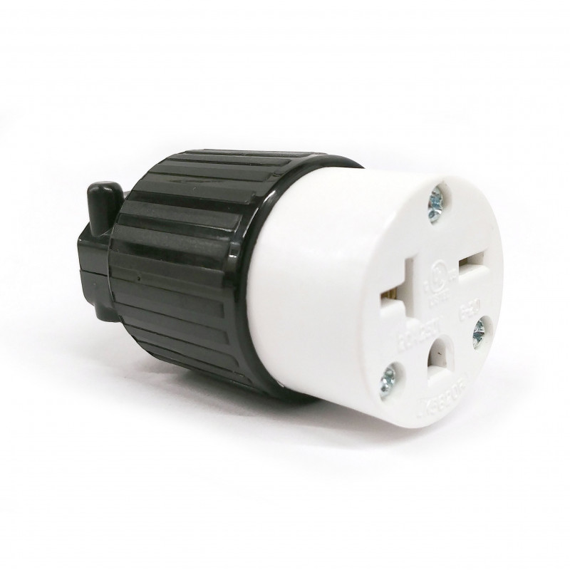 COMMERICAL GRADE POWER SOCKET (F) NEMA 6-20R 250VAC 20A