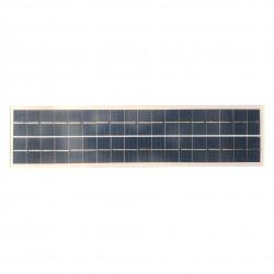 SOLAR PANEL 12V 20W 125 X 500MM