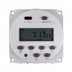 24VDC DIGITAL TIMER RELAY 24H/7D 240V/16A CONTACT