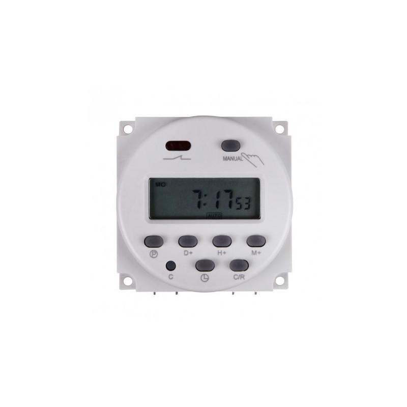 24VDC DIGITAL TIMER RELAY 24H/7D 240V/16A CONTACT