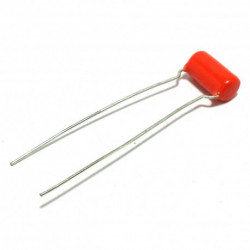 ORANGE DROP CAPACITOR, 400V, 0.01UF, 1/PKG