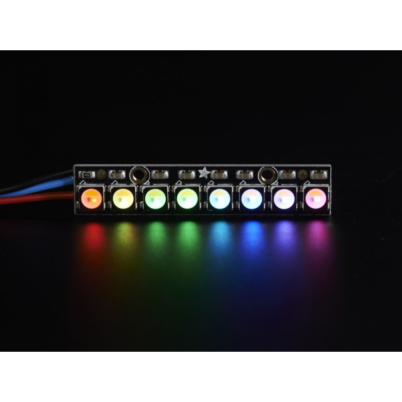 NEOPIXEL STICK 8X 5050 RGBW WARM WHITE