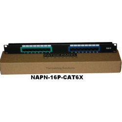 PATCH PANEL CAT6 1U 16 PORT