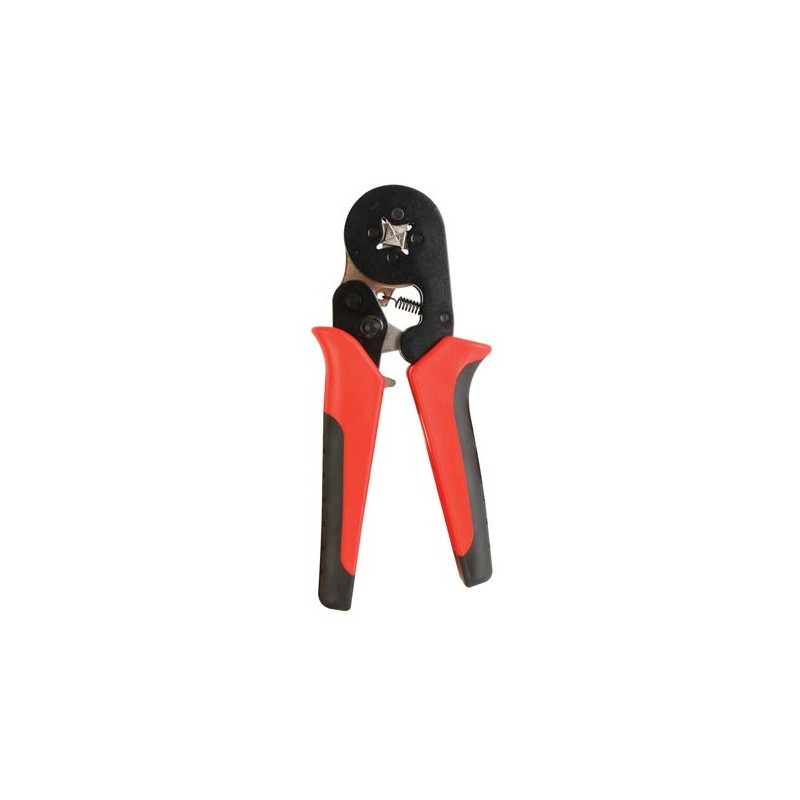 SELF ADJ. FAST CRIMPING TOOL FOR CORD-END SLEEVE CONNECTORS