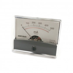 PANEL METER PM-2 500mA DC 61 X 48.25MM