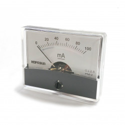 PANEL METER PM-2 100mA DC 61 X 48.25MM