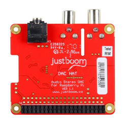 JUSTBOOM DAC HAT