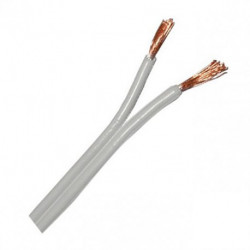 HOOK UP WIRE 2X18AWG W/W COLOUR - PER FOOT