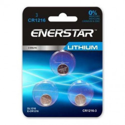 BATTERIES CR1216 3V LITHIUM
