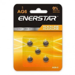 BATTERIES AG6 LR920 371 193 5-PACK