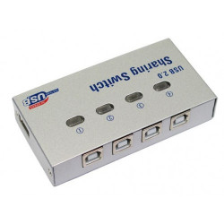 4 PORT USB B 2.0 AUTO SHARING SWITCH HUB