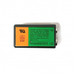 BATTERY, RECHARGEABLE, 9V, 170mAh