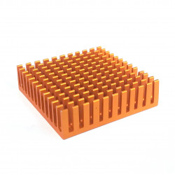 ALUMUNUM HEAT SINK WITH EXTRUDED RAILS 40MMX40MM