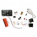 MINI AUDIO SYNC MUSIC TESLA COIL KIT WITH POWER SUPPLY