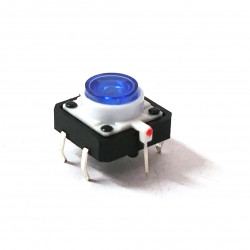 TACTILE SWITCH WITH BLUE LED