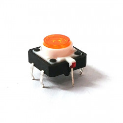 TACTILE SWITCH WITH ORANGE LED