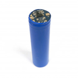 BATTERY, RECHARGEABLE 18650 LI-ION 3.7V 2200mAh W/PROTECTION