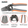 IWISS CRIMPING TOOL IWS-2820M 28AWG-20AWG