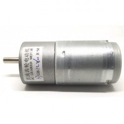 GEAR MOTOR 12V 100RPM 37GB