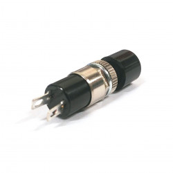 PUSH BUTTON (MAYAMA) BLACK MOMENTARY N/C DS-194NC