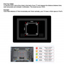 """14-27"""" MONITOR WALL MOUNT, 2 ARMS, 10KG"""