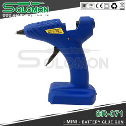 SOLOMONS MINI BATTERY POWERED GLUE GUN SR-071