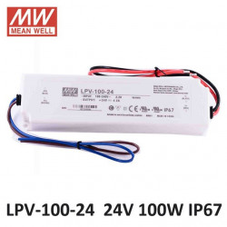 MEANWELL POWER SUPPLY 24V 100W LPV-100-24