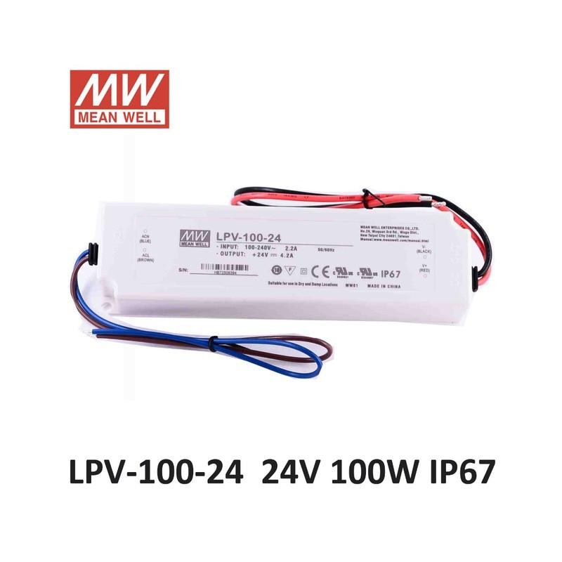 MEANWELL POWER SUPPLY 24V 100W LPV-100-24