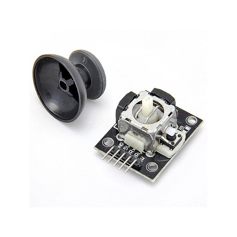 PS2 THUMB JOYSTICK WITH BREAKOUT BOARD
