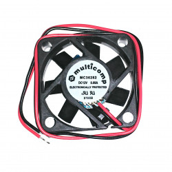 DC FAN 40X40X10MM 12V 0.08A R/B OPEN WIRE MC36282