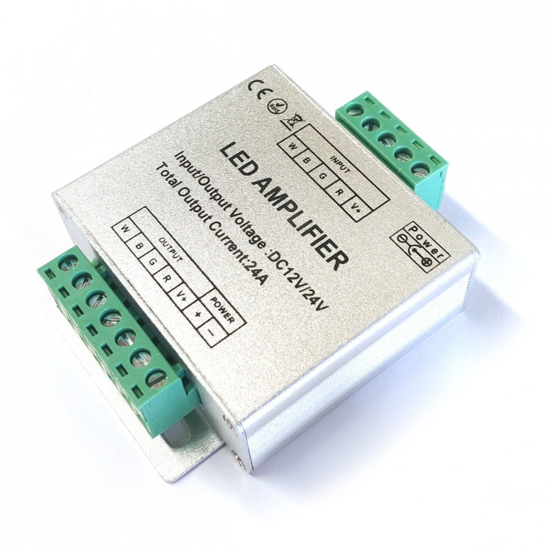 LED, RGBW AMPLIFIER, 12V/24VDC 24A
