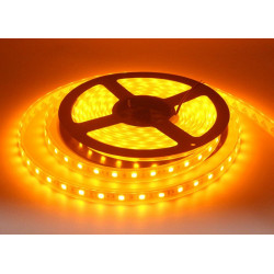 LED, STRIP, 5050, 12V W/ TUBING, ORANGE - 1M