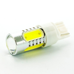 LED AUTO LAMP, T20, YELLOW, 12V