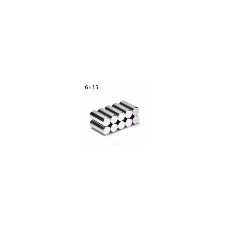 MAGNET CYLINDER NEODYMIUM D6X15MM