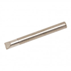 WELLER, SOLDER TIP, MT10, CHISEL, W: 6.35MM