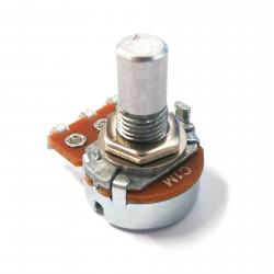 POTENTIOMETER ALPHA, 1M(C), LUGS, 16MM SOLID SHAFT